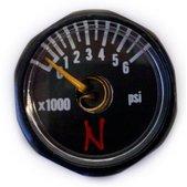 Ninja Ultralite Nano Tank Gauge - Black - 6000 PSI